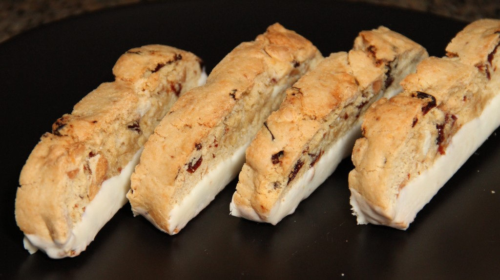 ... chocolate biscotti dried cherry and almond biscotti with white