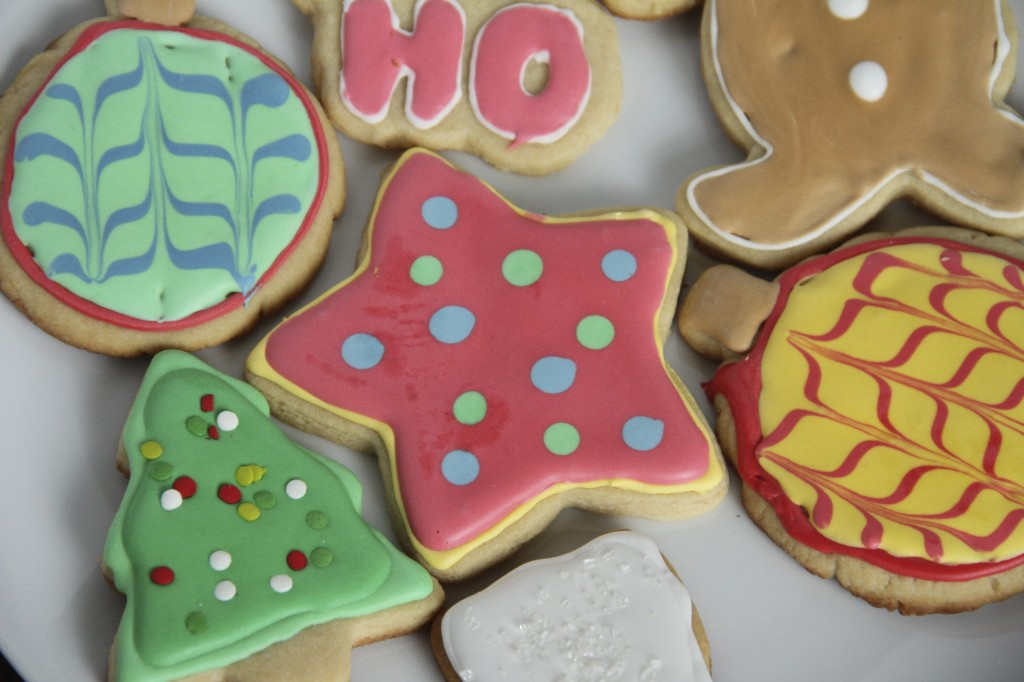 print this - Decorating Cookies With Sprinkles For Christmas