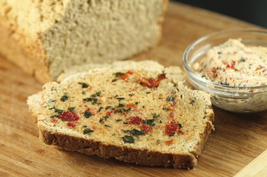 ... , compound butter, quick bread, beer, italian, sundried tomato, basil