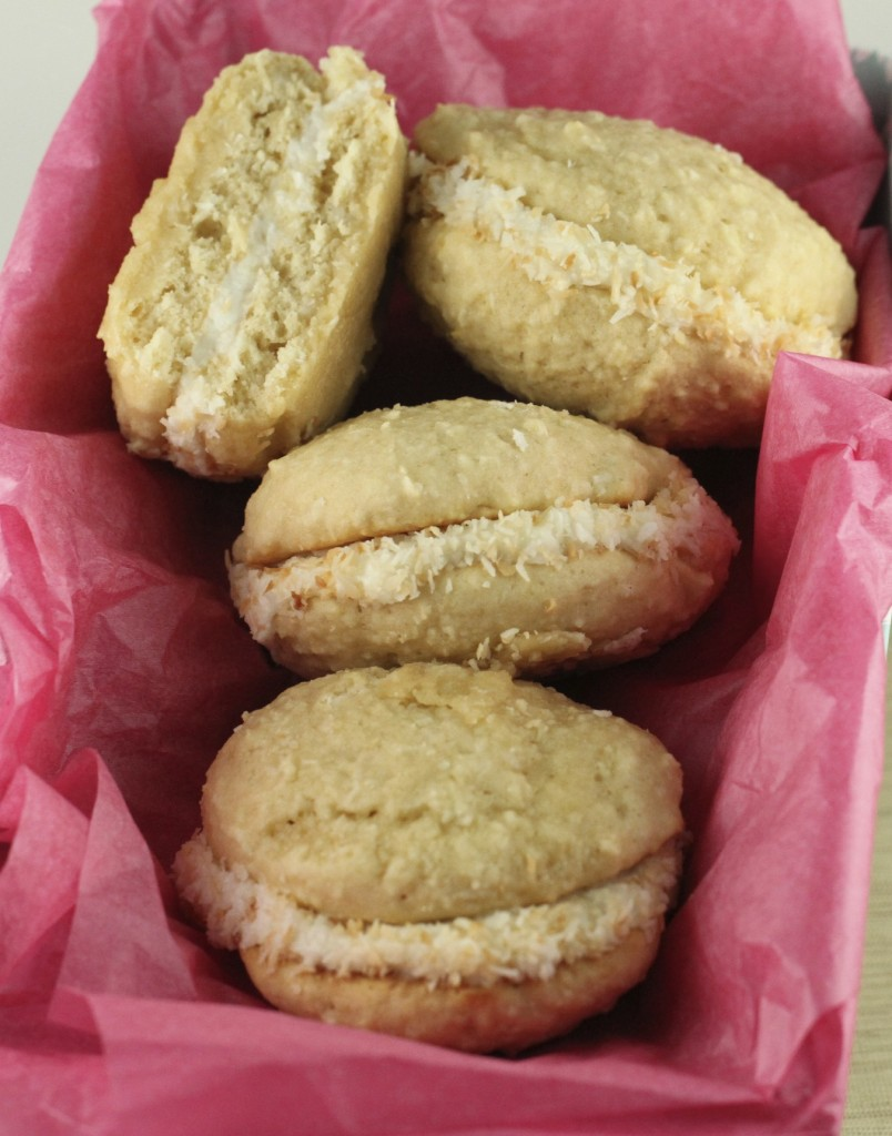 Coconut Cream Whoopie Pies Recipe — Dishmaps