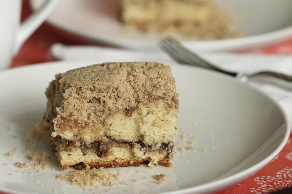 ... coffee cake. It is a decked out, insanely over-the-top coffee cake