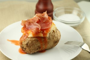 Lightened Up Twice-Baked Potatoes {Satisfy My Sweet Tooth}