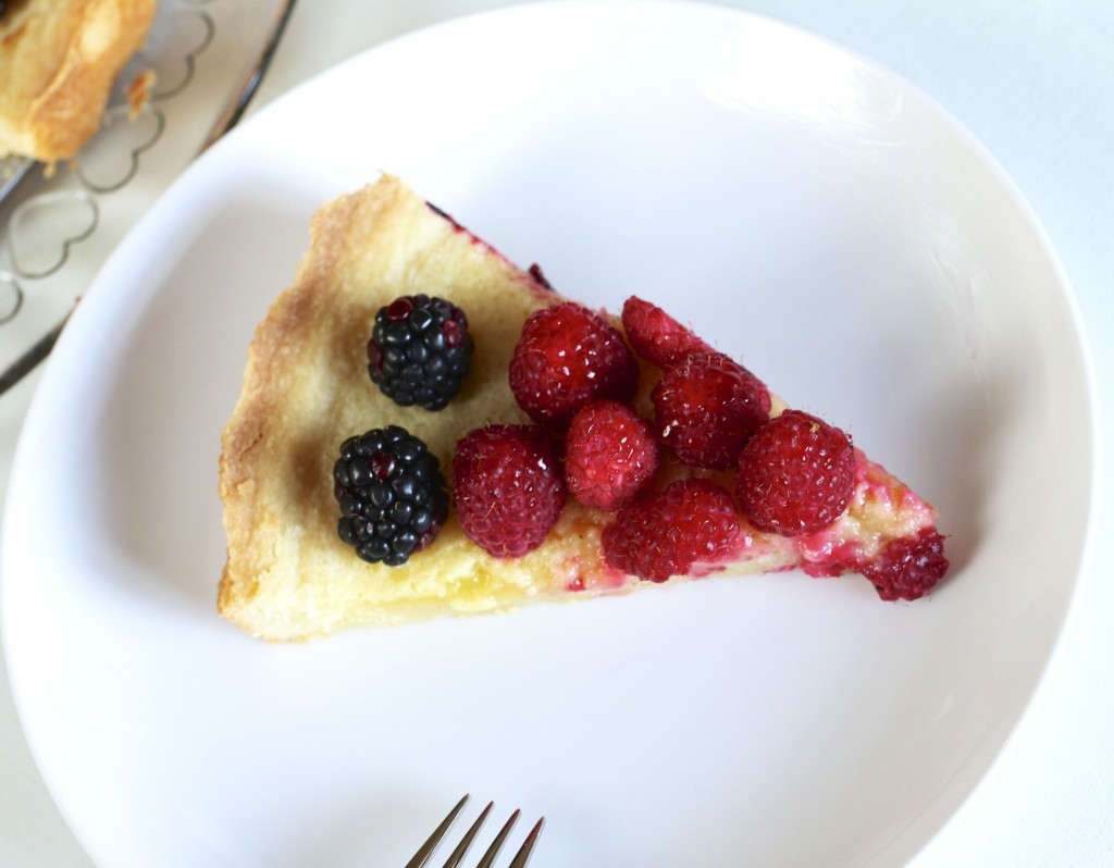 The Perfect Lemon Tart {Satisfy My Sweet Tooth}