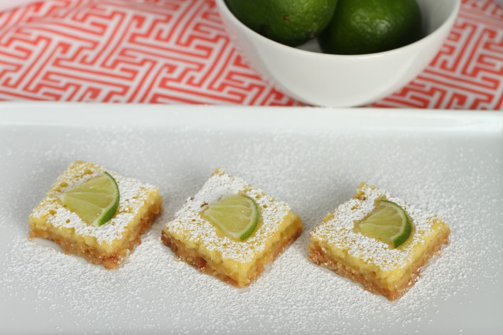 Lime Coconut Bars {Satisfy My Sweet Tooth}