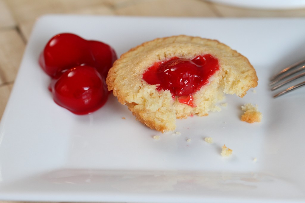 Individual Vanilla Cherry Cakelets {Satisfy My Sweet Tooth}