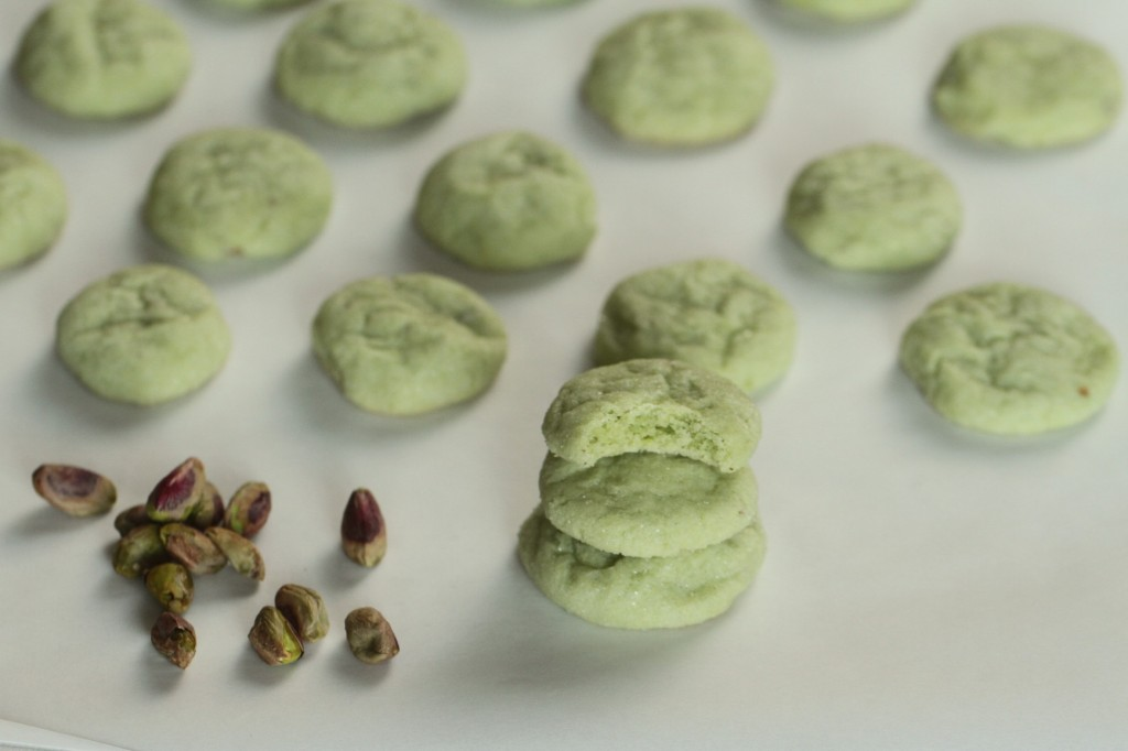 Pistachio Cookies {Satisfy My Sweet Tooth}