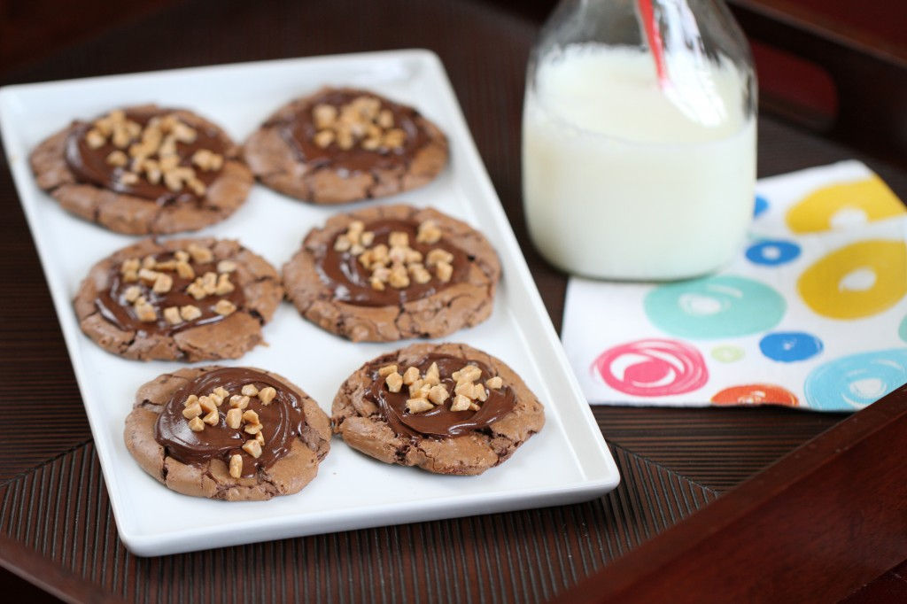 Toffee Brownie Cookies {Satisfy My Sweet Tooth}