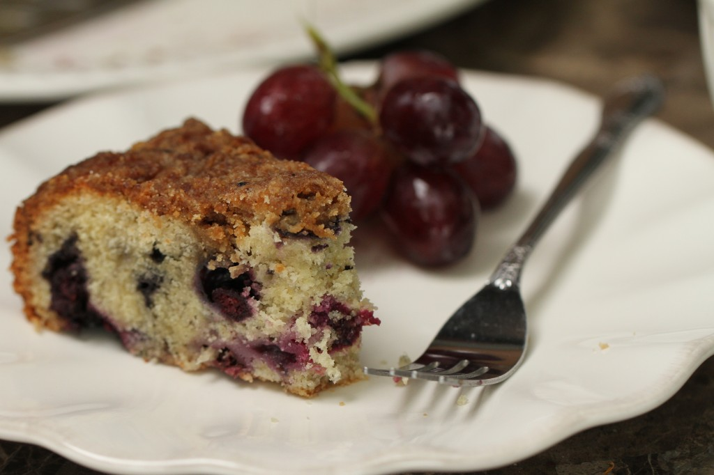 The Ultimate Blueberry Streusel Coffee Cake {www.satisfymysweettooth.com}