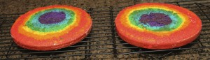How to make a Rainbow Cake {satisfymysweettooth.com}