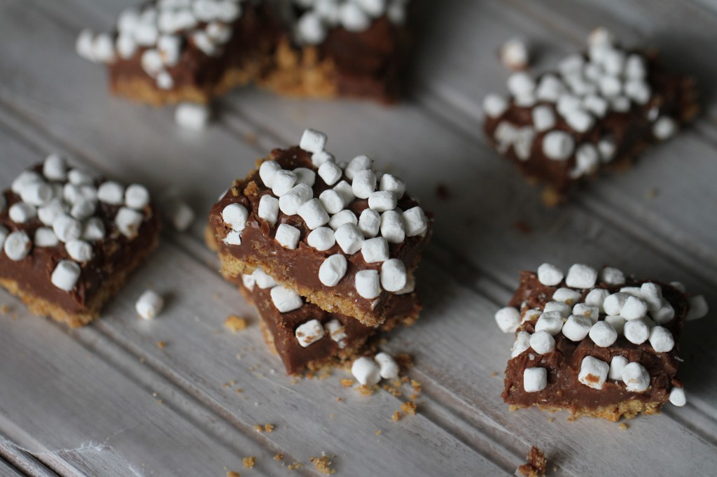 The Best S'mores Bars {satisfymysweettooth.com}